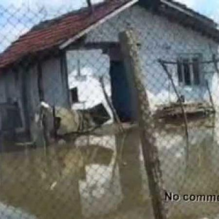 disaster in roma neighbrhood in vidin